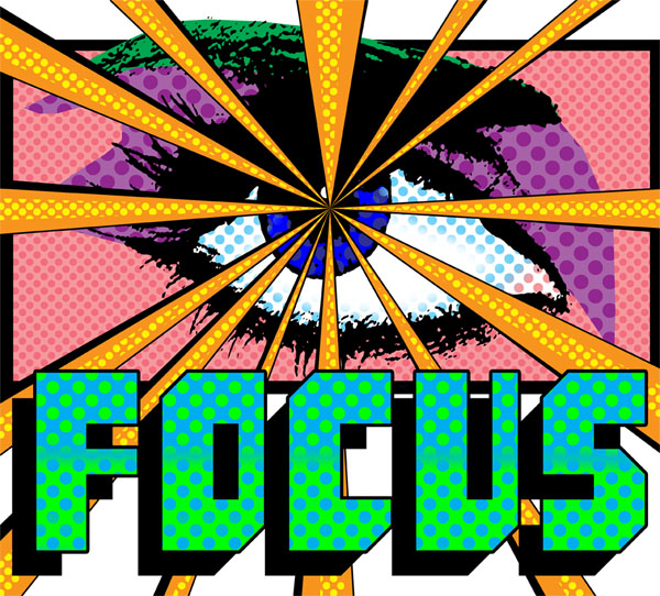 Dave Weiss Pop Art Focus