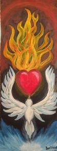 doveheartfirepainting