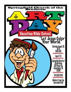 art day poster