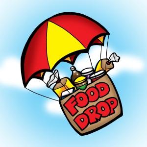 chuck-food-drop